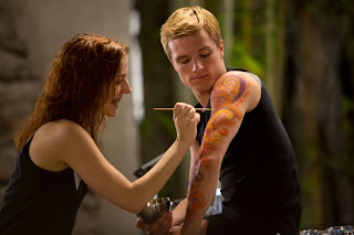 Missing from the movie? Peeta and the Morphling from District 6