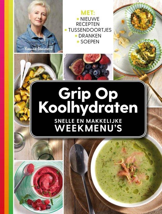 RESERVEER NU: Grip op Koolhydraten - Weekmenu's