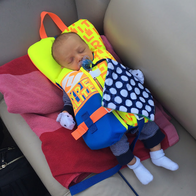 Baby Life Jacket, lake Norman