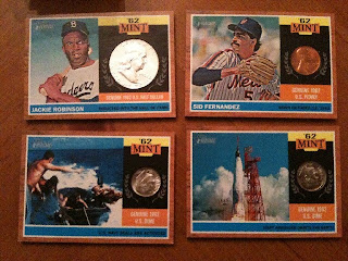2011 Topps Heritage Coin Cards