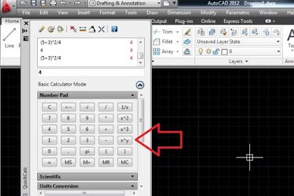 AutoCAD Kalkulator