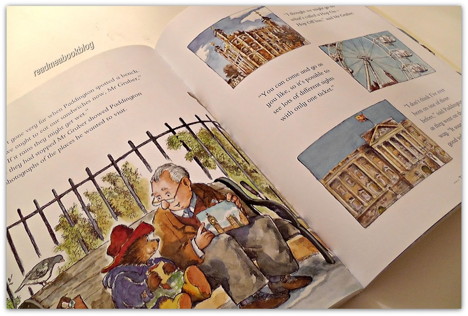 Visitiamo londra insieme a paddington read me a book for Libri in italiano