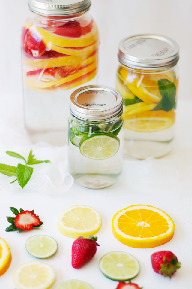 3 Slimming Detox Water Recipes