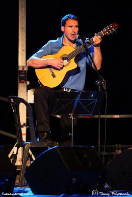 Jordi Rubau de Cubacant a la cantada de Les Santes de Mataró