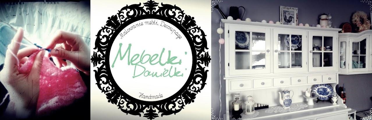 Mebelki Danielki - malowanie mebli, decoupage i inne twory