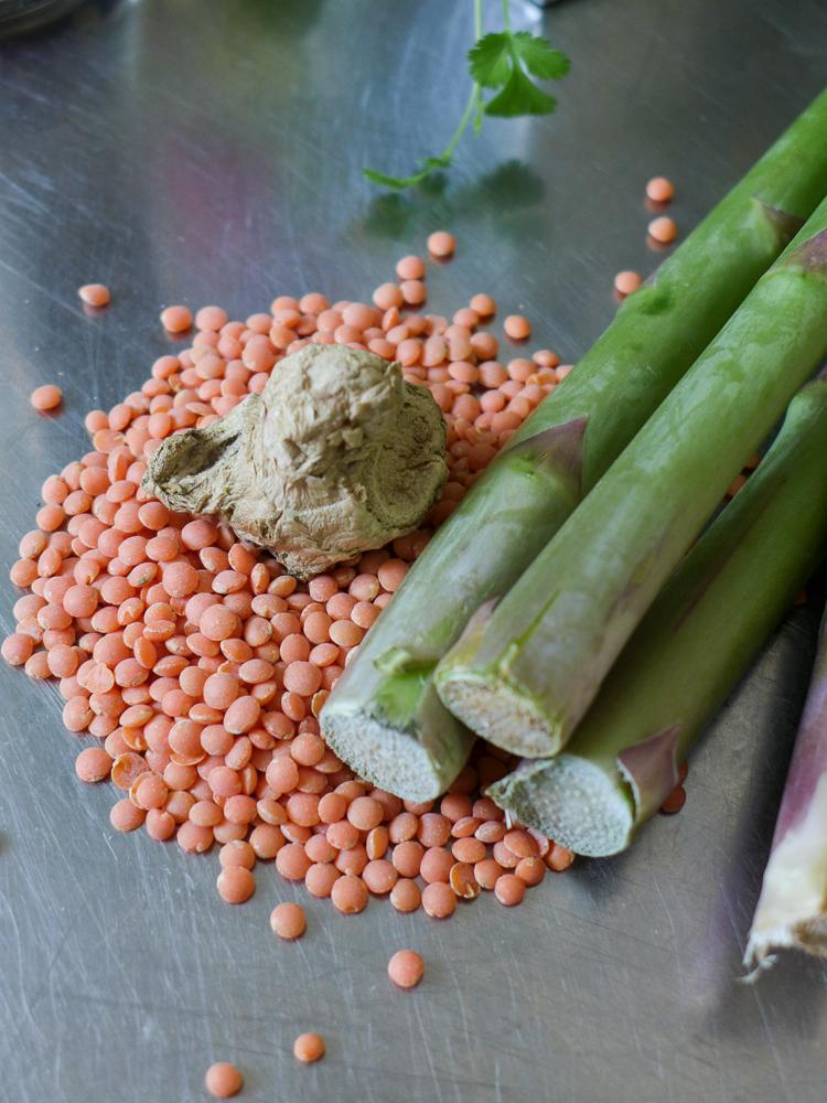riabstyle rezept der woche rote beete linsensalat mit gr nem spargel. Black Bedroom Furniture Sets. Home Design Ideas