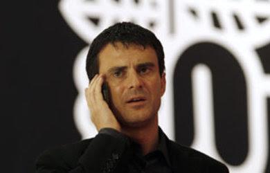 Manuel Valls, ministre de l'intérieur, élu l'homme politique