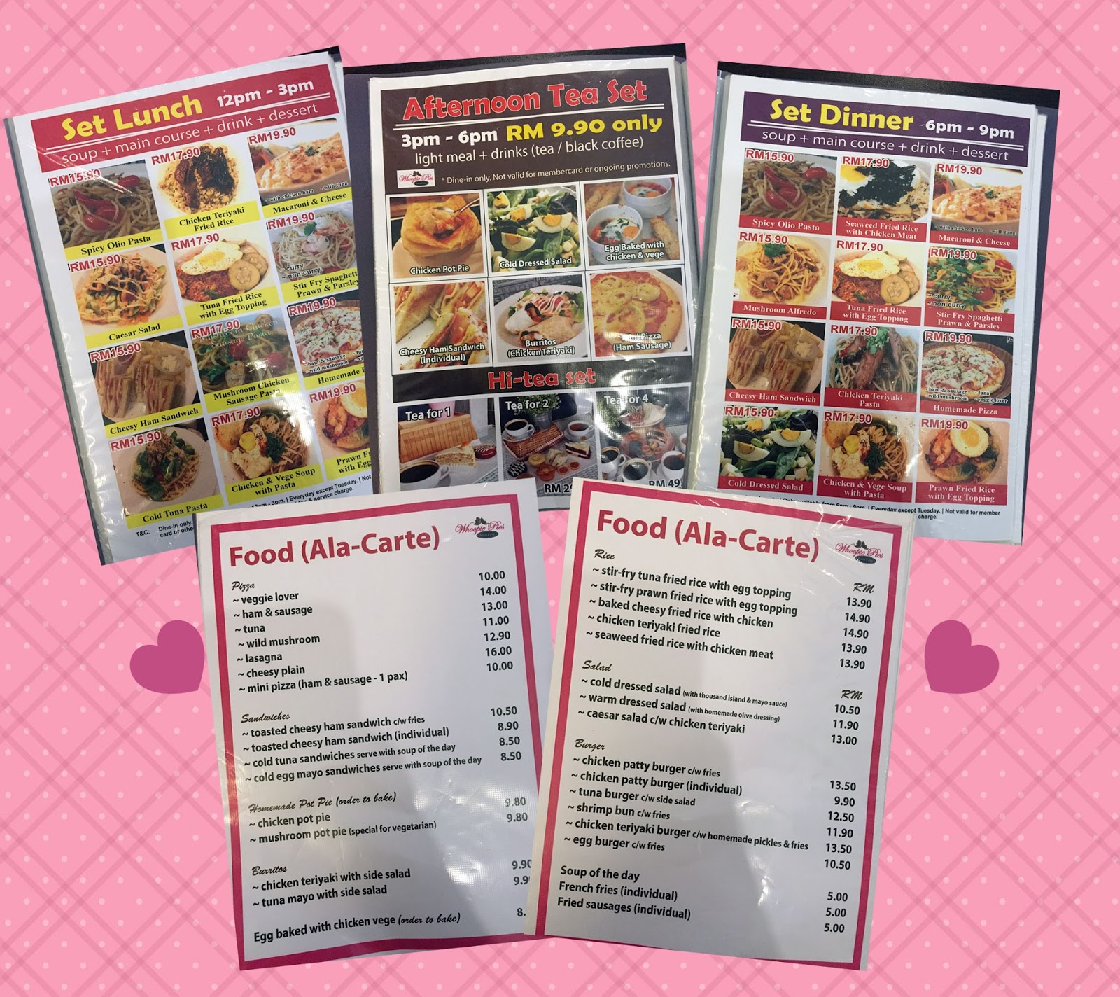 Angie S Cafe And Bakery Menu