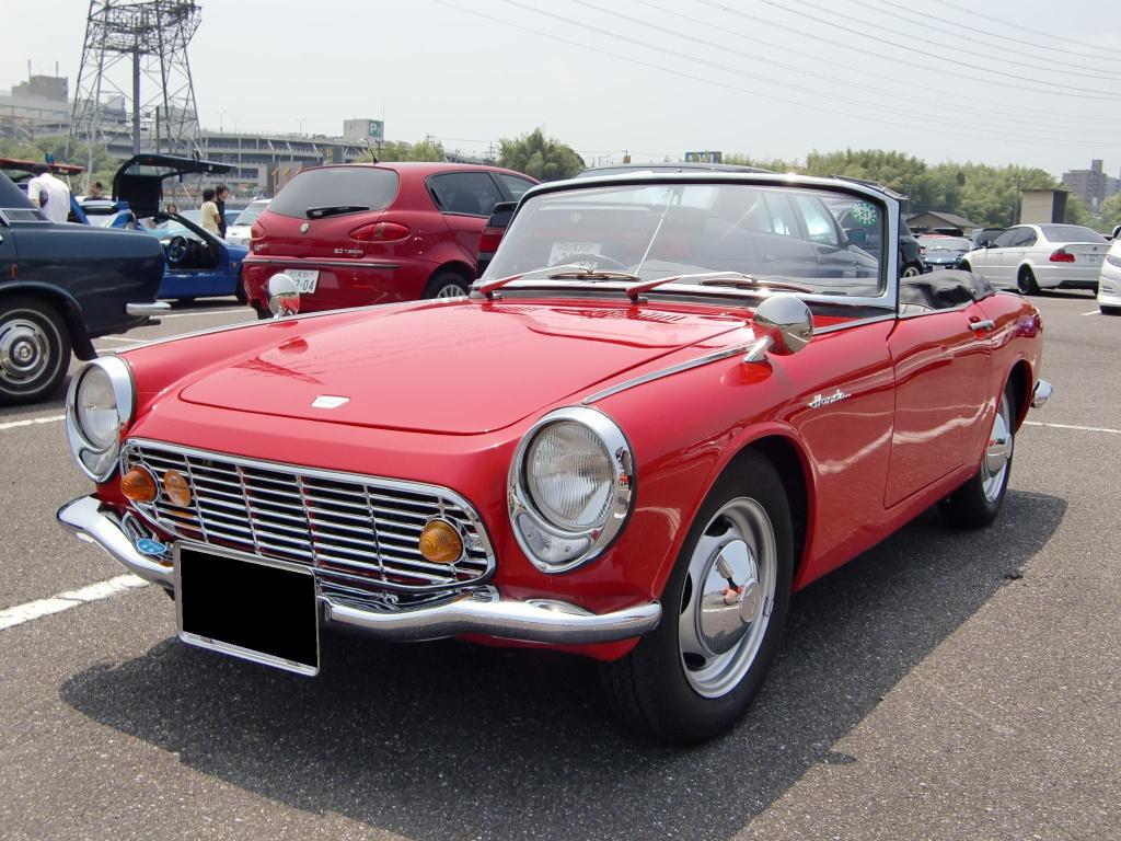 Honda S600, sports, stary japoński samochód, klasyk, oldschool, roadster, 日本車, スポーツカー, クラシックカー