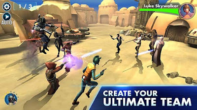 Star Wars™: Galaxy of Heroes Mod Apk Role Playing EA Game
