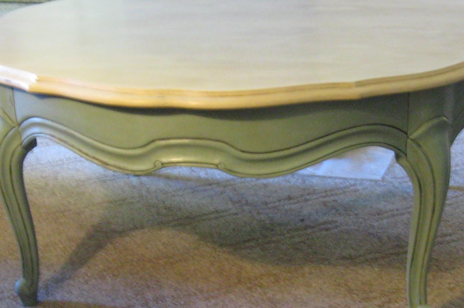 Sacred Heart Design Annie Sloan Chalk Paint Coffee Table