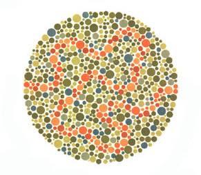 Cosa sono le tavole di ishihara per la rilevazione del daltonismo - Test dello specchio polizia ...