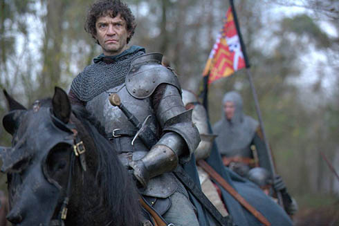 Lord Warwick (James Frain) in The White Queen