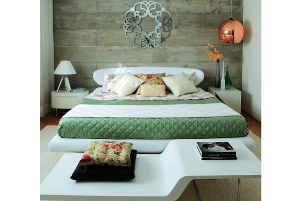 Um quarto atraente! Jeito de Casa Blog de Decoração ~ Revestimento De Parede De Quarto Com Ceramica