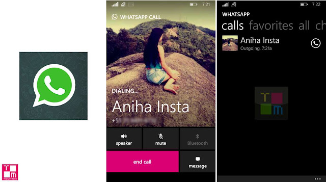 Whatsapp Call Windows Phone