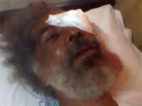 Hieren a Juan Hubieres durante un desalojo