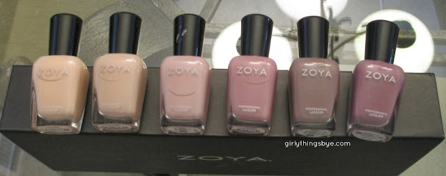 Zoya Naturel Collection