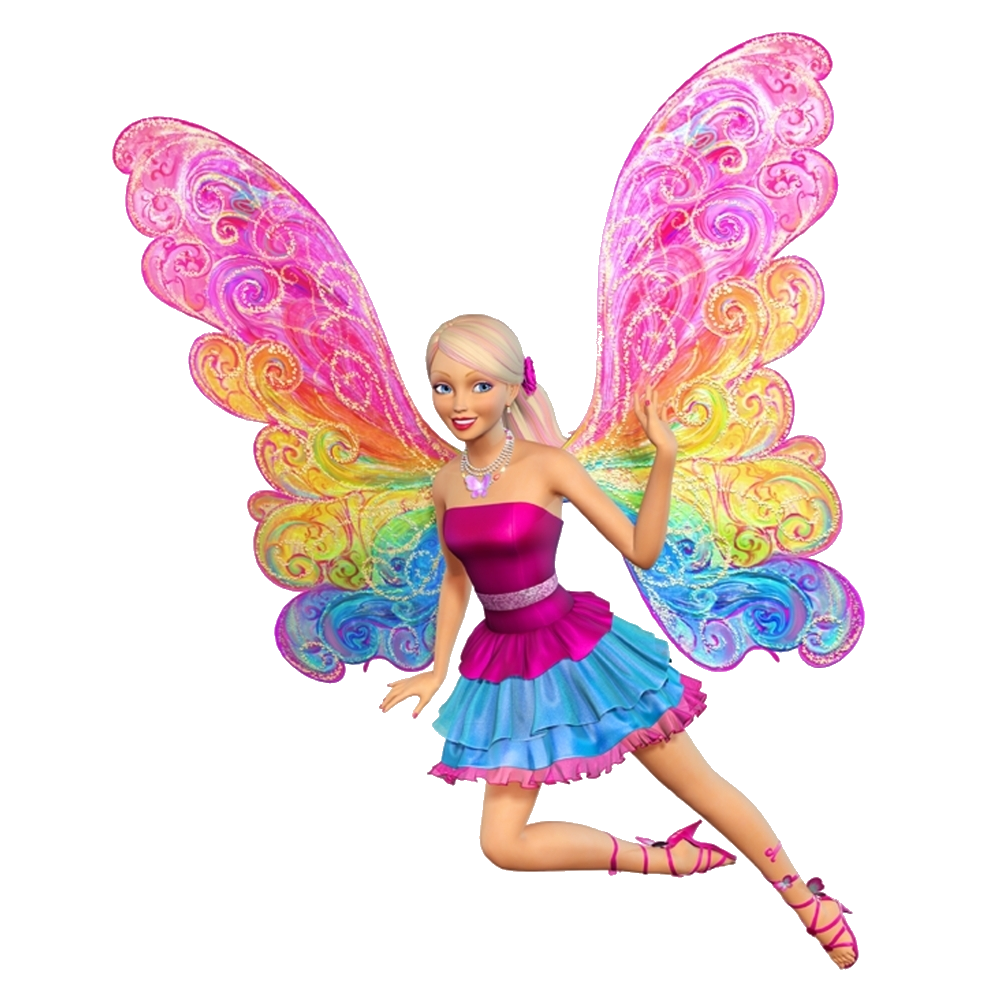Photo Editing Material Barbie PNG Photoscape Material