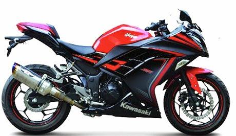Foto Gambar Kawasaki Ninja 250FI Special Edition 2015