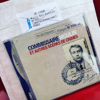 Commissaire Moulin et autres scènes de crimes par François de Roubaix music box records