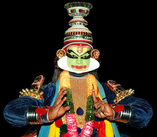 Kathakali Krishna vesham