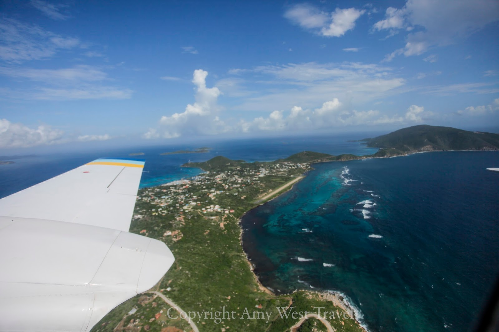 View out a Cessna Window
