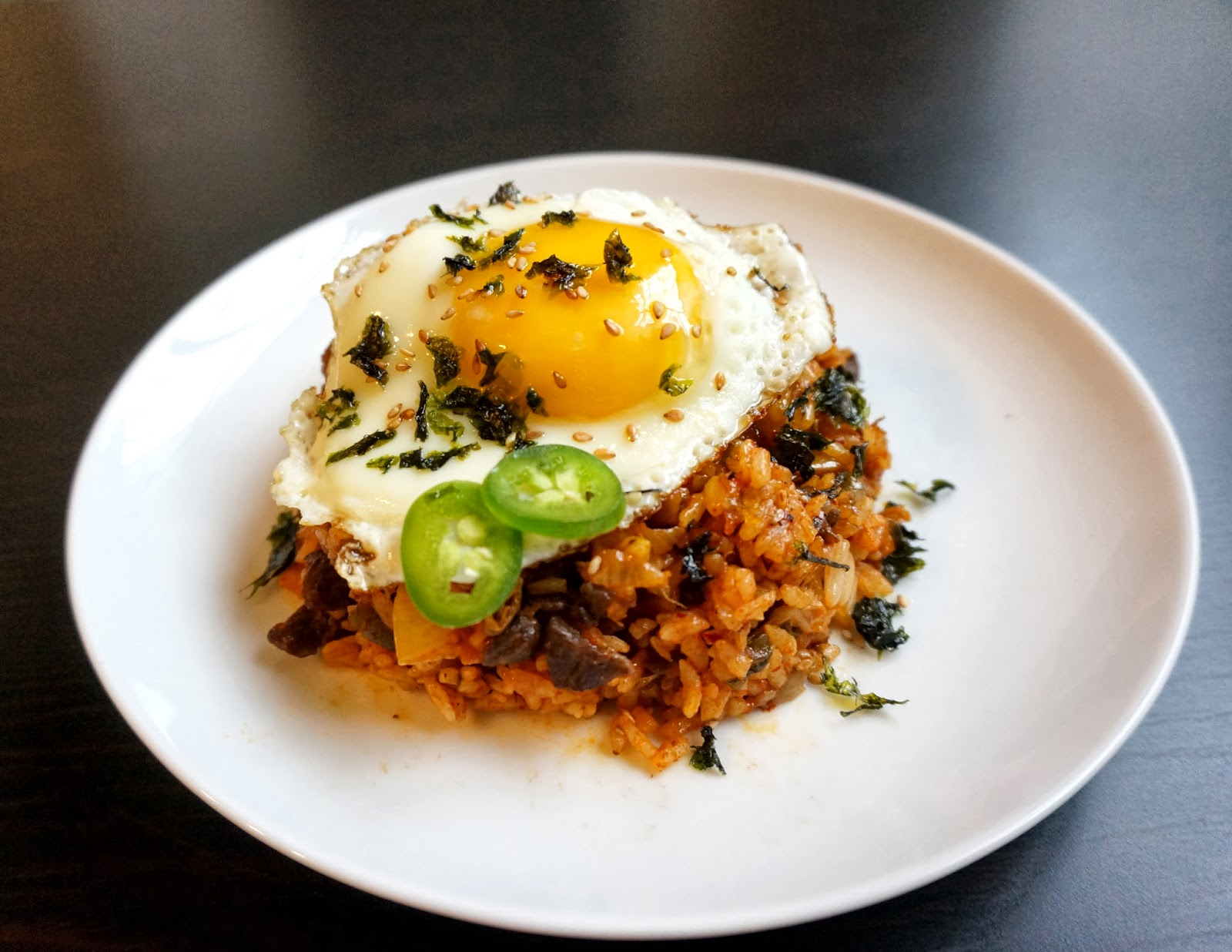 ... you make kimchi fried rice!! I mean, that's a common occurrence right