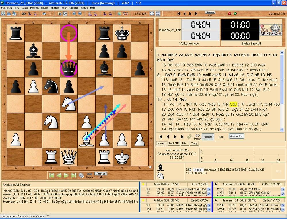 صورة من لعبة شطرنج اون لاين
