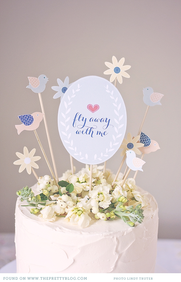 Wedding Cake Topper P