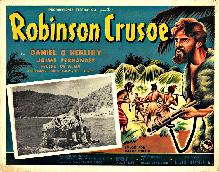 A Vintage Nerd, Vintage Blog, Old Hollywood Blog, Classic Film Blog, And then there were none, Robinson Crusoe