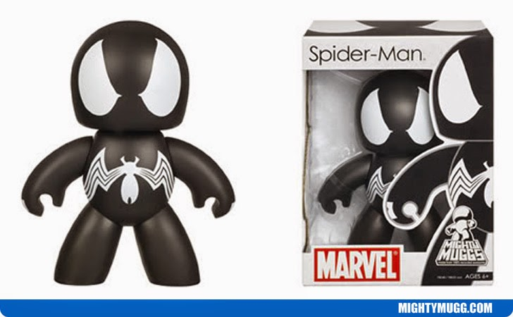 Spider-Man Symbiote Marvel Mighty Muggs Wave 3