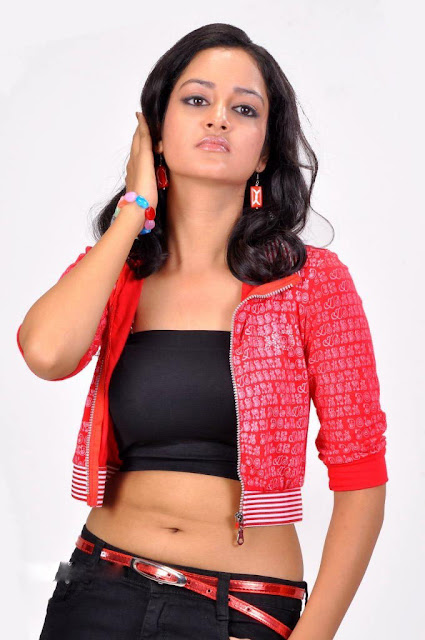 shanvi hot navel show