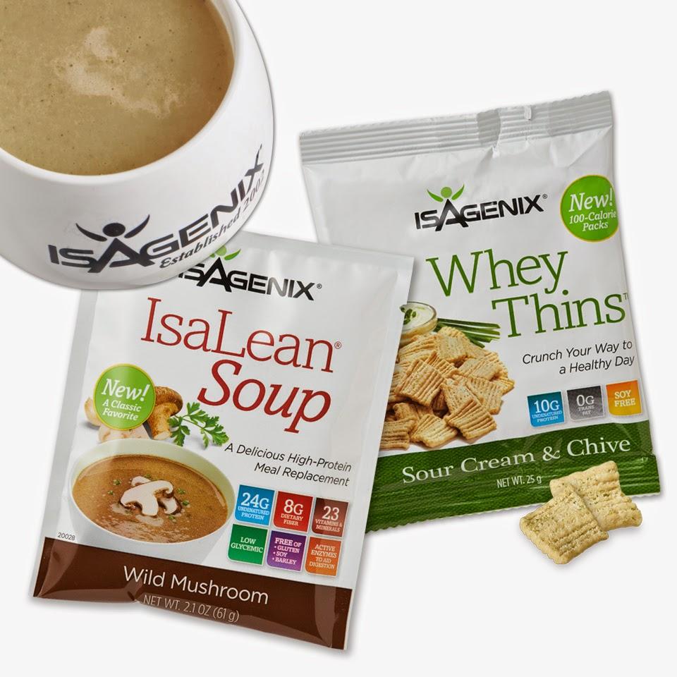 Whey Thins Isagenix mang đến cho bạn 10 gram protein