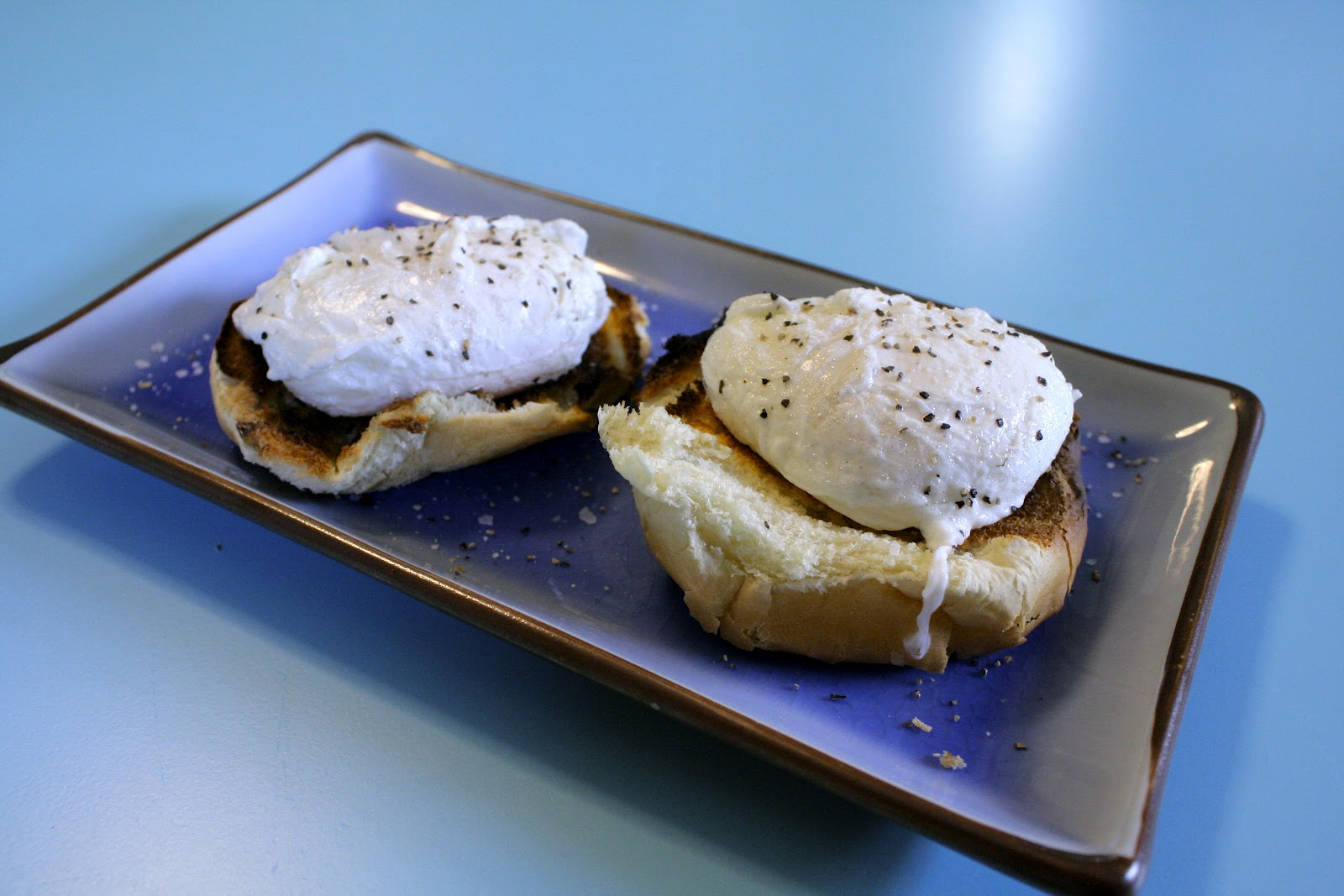 I Would Like To Focus On The Perfection Of These Poached Eggs And Not The  Fact That I Burned My Hamburger Bun What It Is Between The Toaster And I  That I