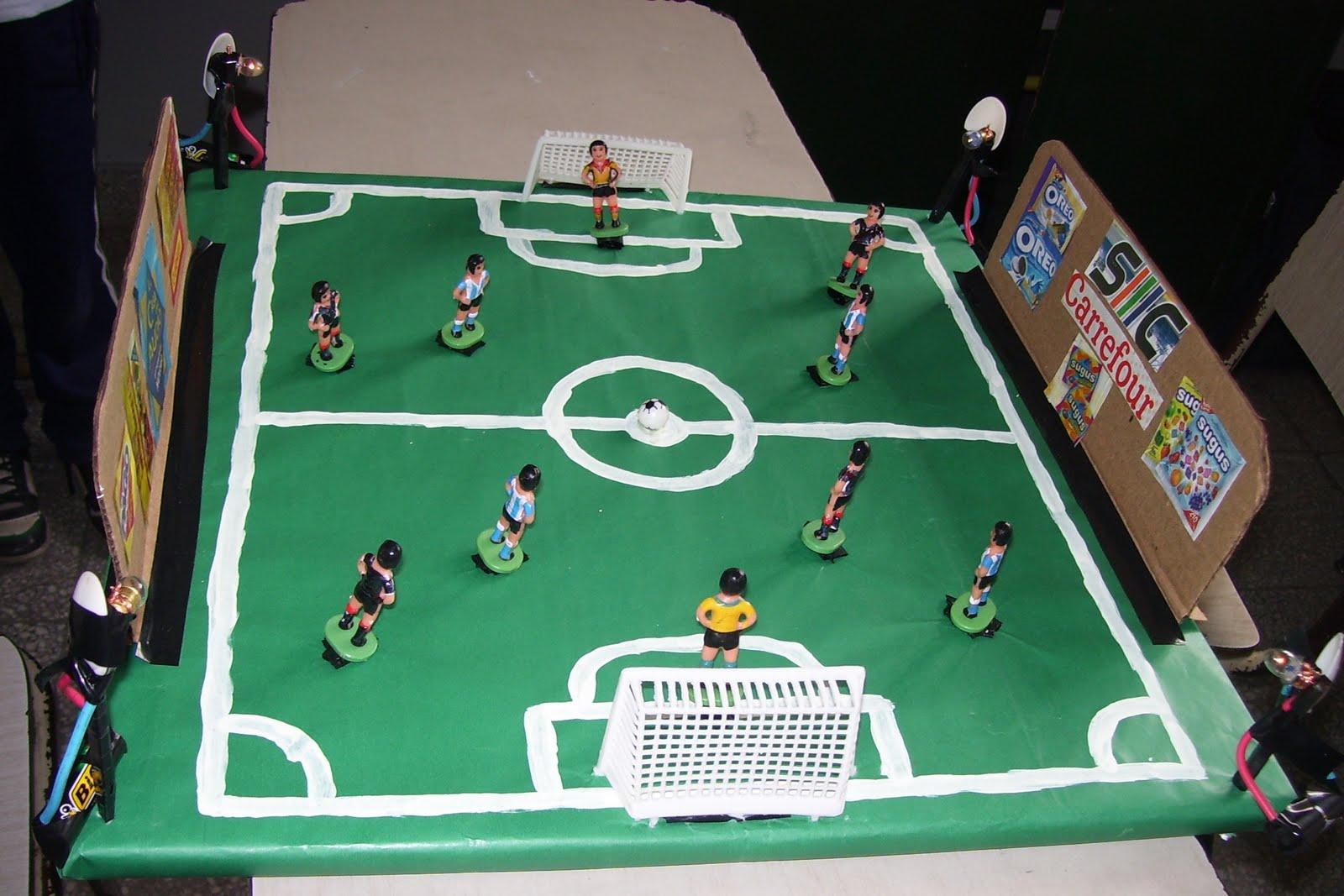 Imagenes De Maquetas De Canchas De Futbol - ¿Como hacer una cancha de fútbol con materiales