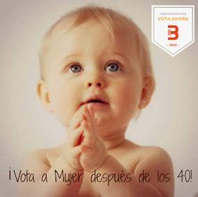 Premios Bitacoras 2014, ¡Vota a Md40!