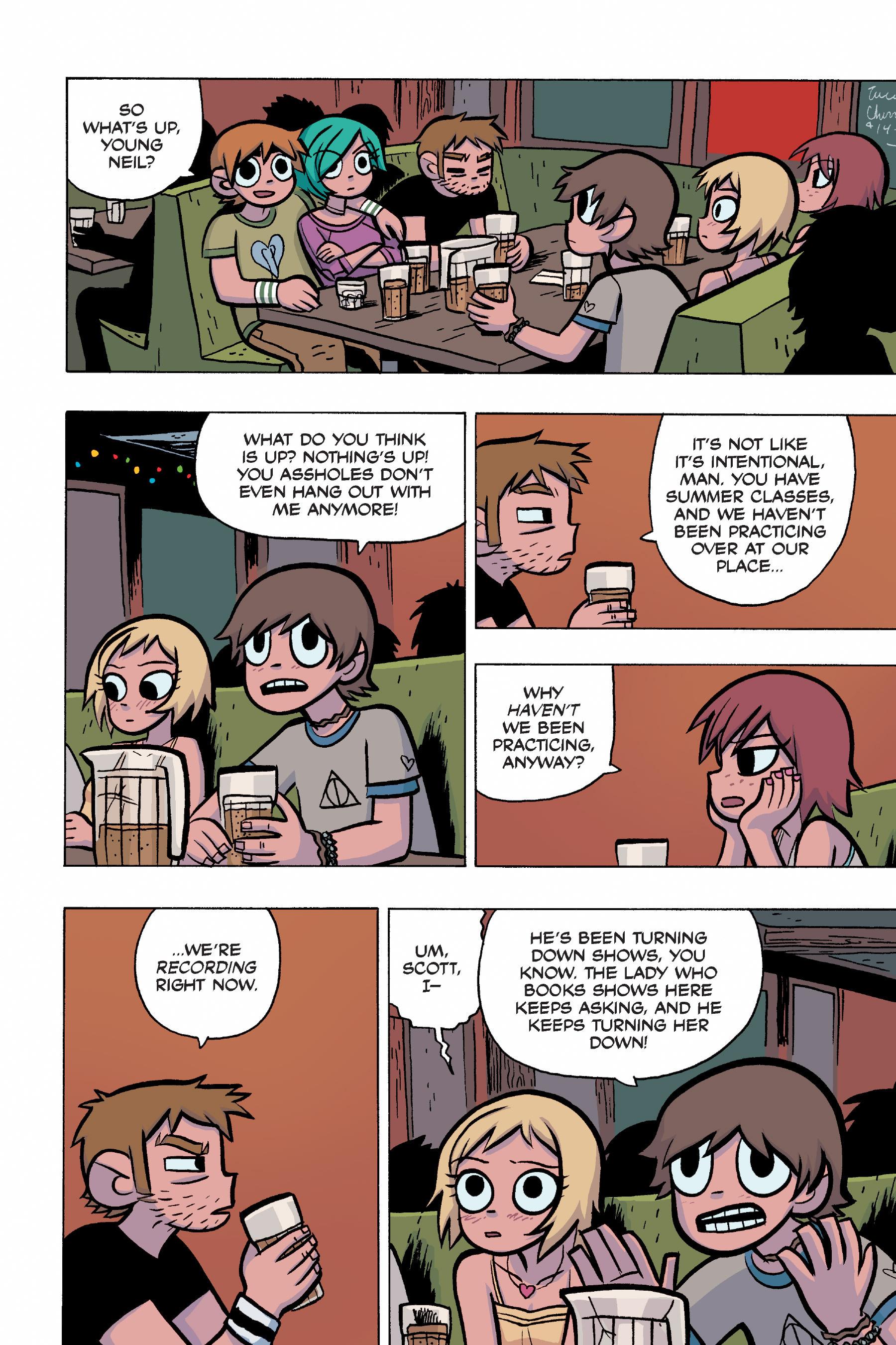 Read online Scott Pilgrim comic -  Issue #4 - 124