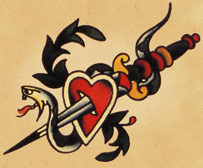 sailor jerry snake head tattoo  sailorjerry.com