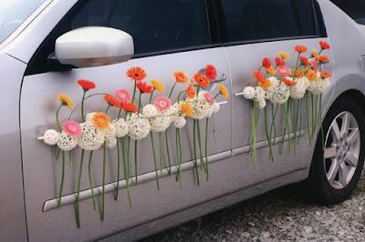Как украсить автомобиль на свадьбу?