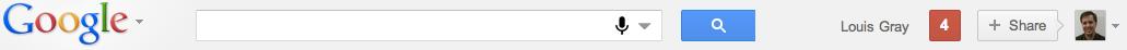 Nouvelle barre d'outils d Google