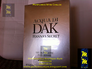 perfume acqua di dak hanna's secret