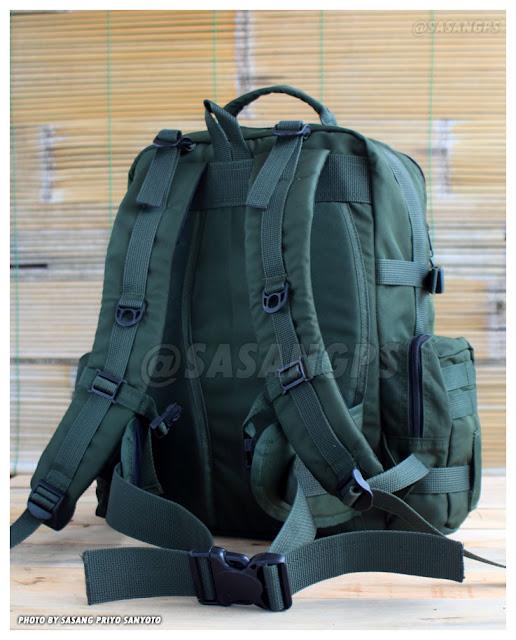Tas Punggung Militer PX314 Hijau Refreshop