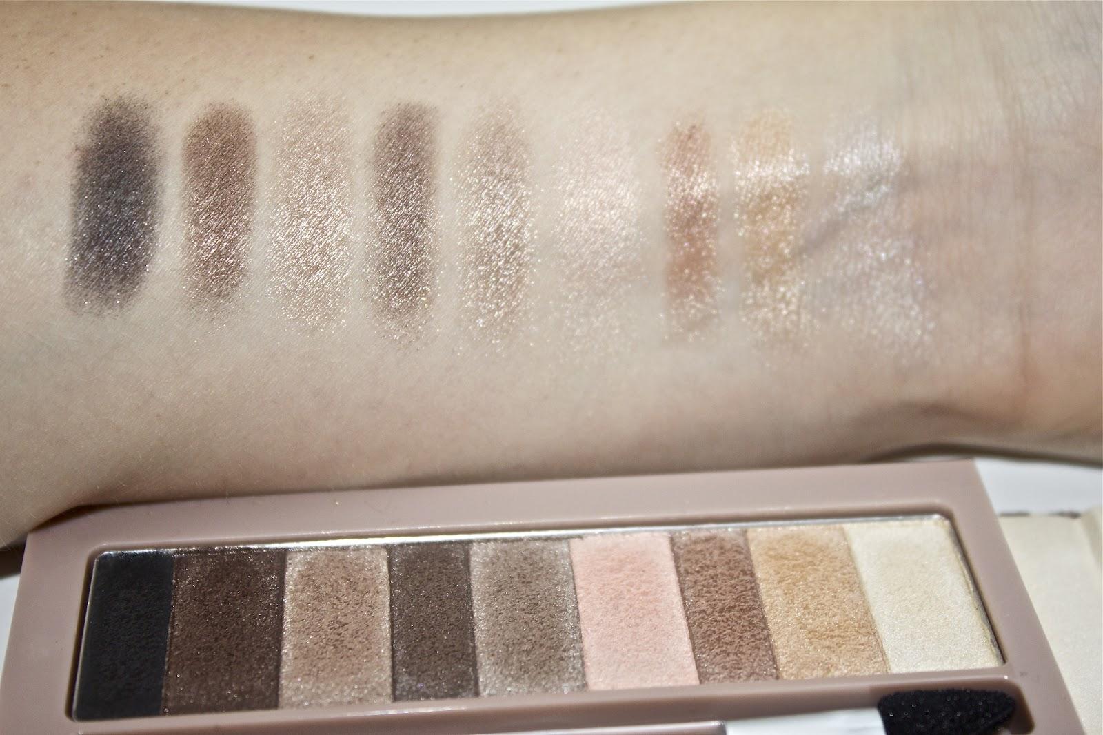 C A I L E Y D A W N Product Review Ud Dupes Pf Nude Es Palette
