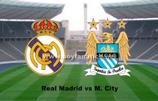 Real Madrid vs Manchester City - Champions 2012