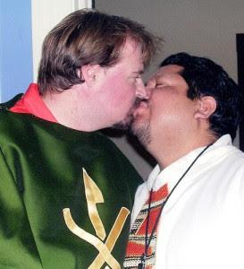 Ha Ha. Stupid catholics think we are pure and White. HAHAHA