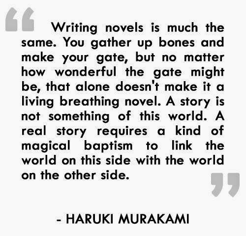 how to write novels