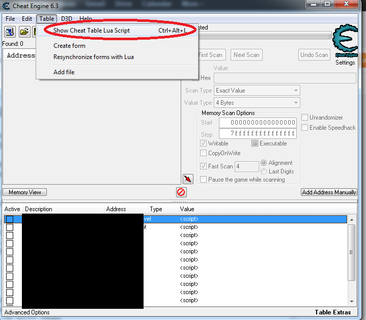 how to find shockwave flash in cheat engine