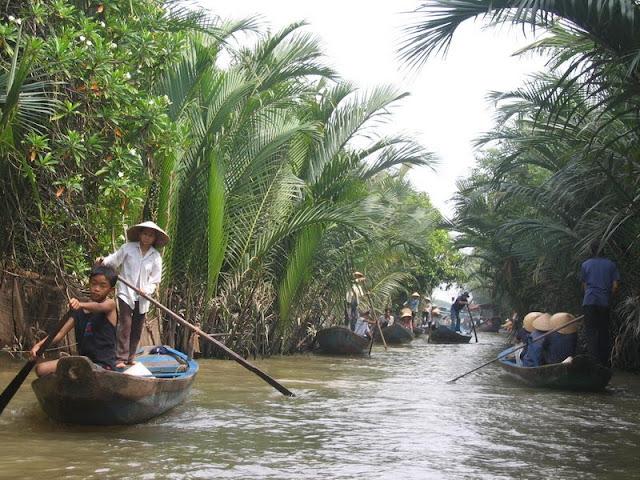 Con Phung - un site potentiel de écotourisme