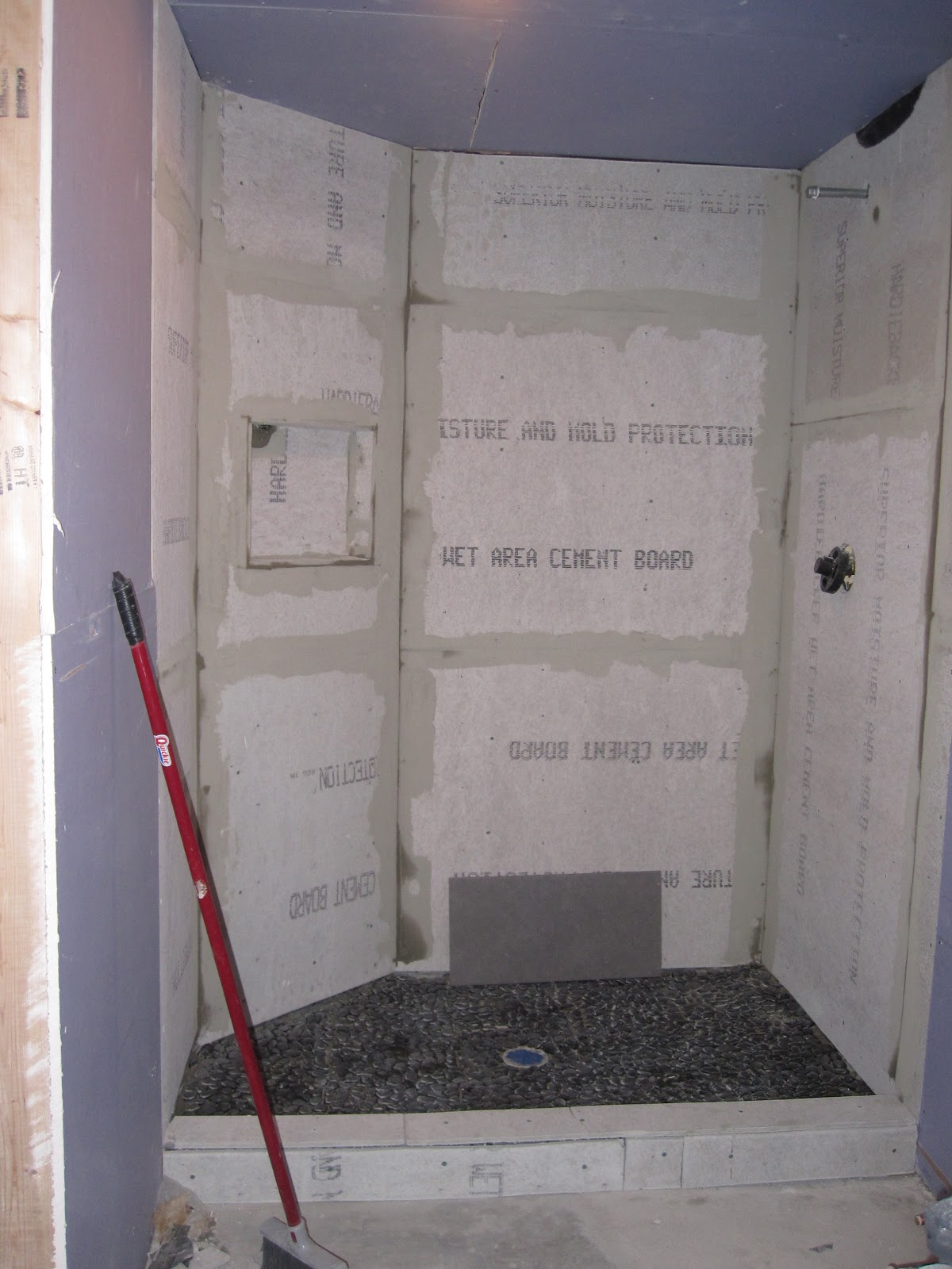 Rectangular Shower Drain Installation