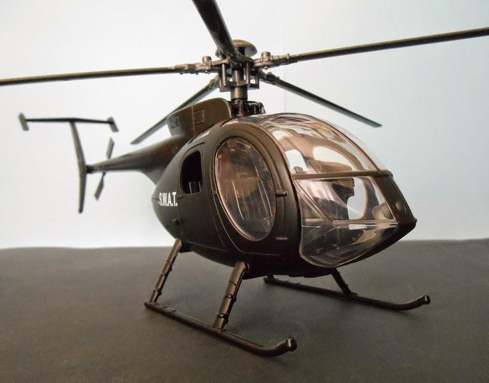 helicóptero escala 1:32